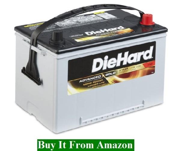 DieHard 38188 Group 34R Lead Acid Battery