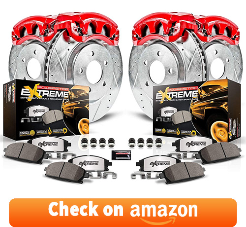 Power Stop Truck and Tow Z36 Front/Rear Brake Pad, Rotor and Caliper Kit review