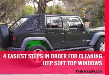 Cleaning Jeep Soft Top Windows
