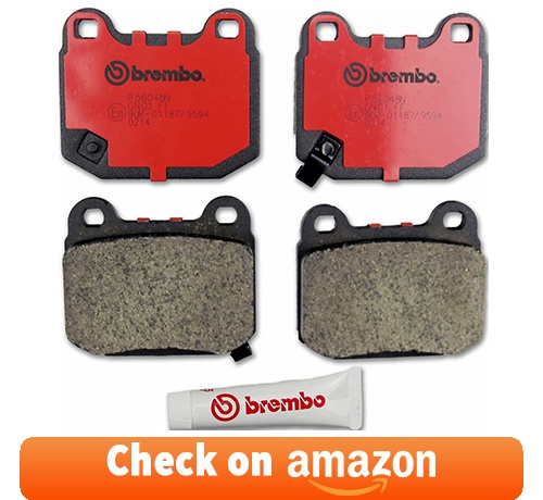 Brembo P56048N Rear Disc Brake Pad review