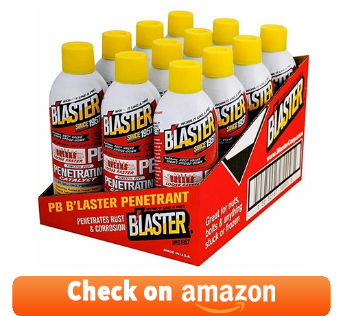 Blaster Products BLP16-PB 12 oz. PB Blaster Penetrant (12/Case): one of the best penetrating oil for seized engine