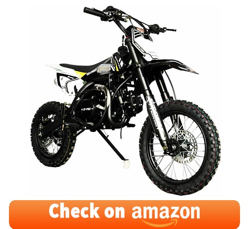 X-PRO Storm 125cc: one of the Best 4 Stroke Dirt Bikes for Trail Riding