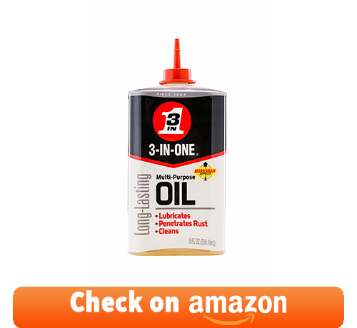 3-IN-ONE - 10138 Multi-Purpose Oil, 8 OZ [12-PACK]: one of the best penetrating oil for seized engine