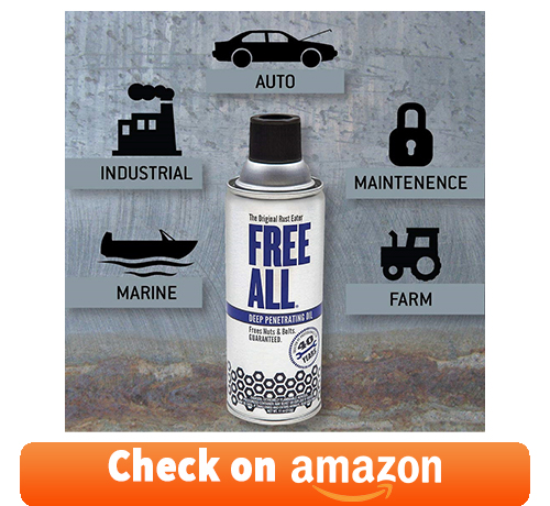 Gasoila - RE12DC Free All Deep Penetrating Oil for seized engine