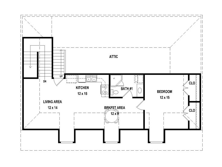 Carriage House Plan With RV Garage