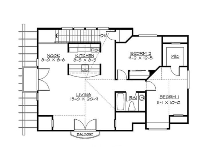 European Carriage House Plan Design