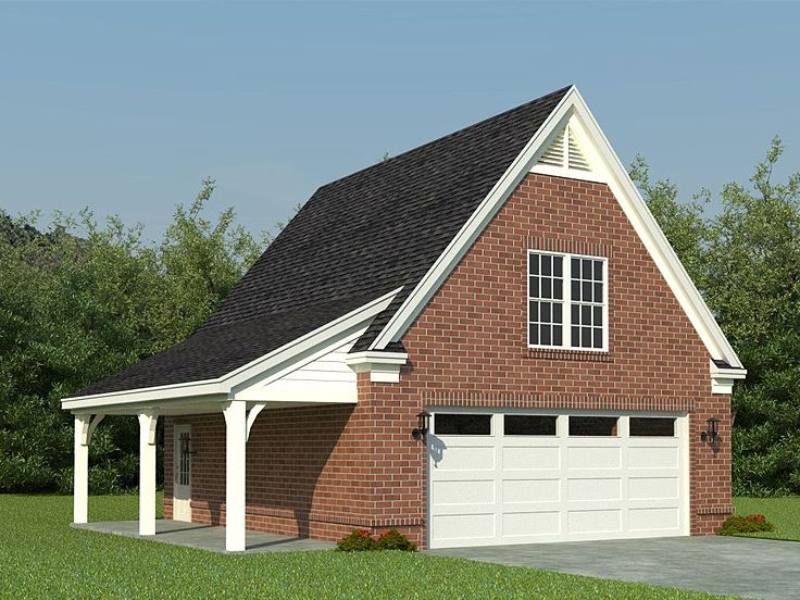 2-Car Garage Loft Plan With Recreation