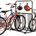 Six Bike Floor Rack