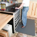 Gray Vinyl Anti-Fatigue Mat