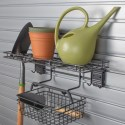 HandiWall Garden Rack and Basket