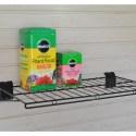 24 x 12 Slatwall Shelf with props