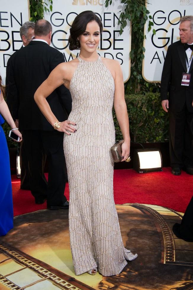 Caitlin Fitzgerald Golden Globes