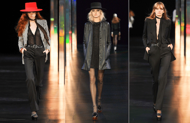 Saint_Laurent_The_Garage_Starlets_Paris_Fashion_Week_Spring_Summer_SS_2015_Ready_To_Wear_Collection_05
