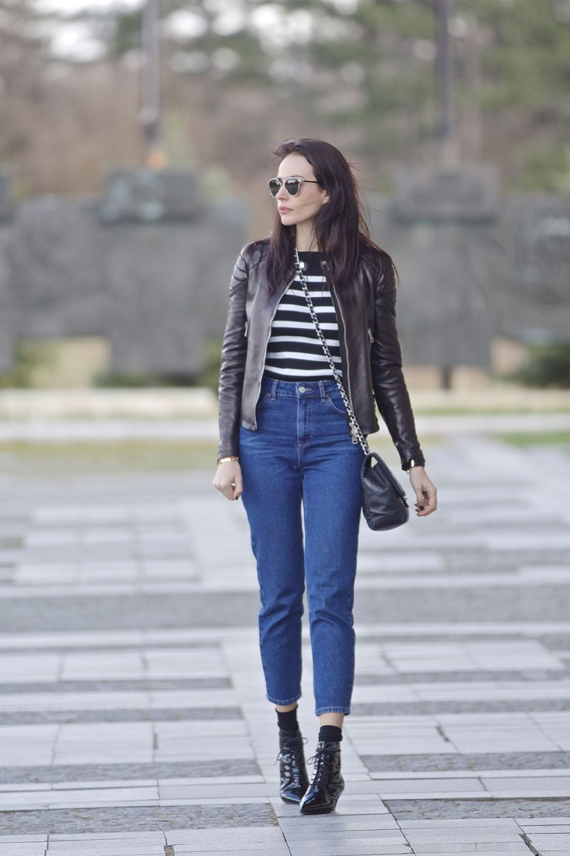 The_Garage_Starlets_Katia_Peneva_Popov_Gucci_Biker_Jacket_Zara_Topshop_Mom_Jeans_Chanel_Bag_Saint_Laurent_Ankle_Boots_Christian_Dior_Sunnglasses_07