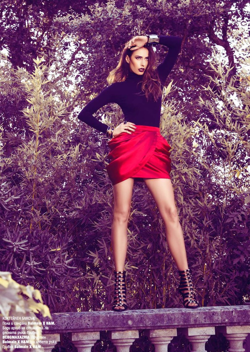 The_Garage_Starlets_Katia_Peneva_Popov_Harper's_Bazaar_Bulgaria_October_2015_Cover_Story_Balmain_X_H&M_HMBalmaination_08