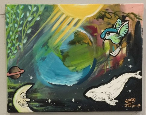 "Jeremy Gonzalez ""Creation"" $40 SOLD"
