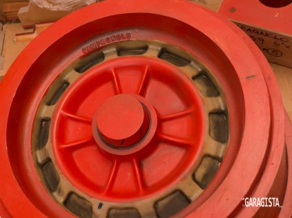Abarth wheel pattern
