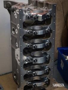 Crosthwaite and Gardiner alloy Jaguar engine block