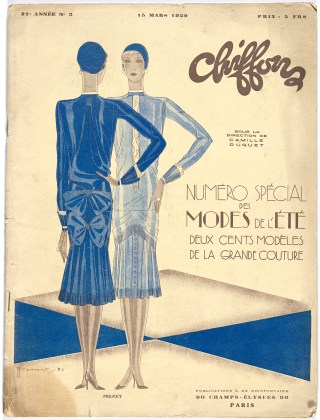 Chiffons 1929 Campbell-Pretty Fashion Research Collection National Gallery of Victoria, Melbourne