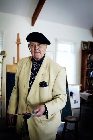 Portrait of John Olsen by Hugh Stewart © Hugh Stewart