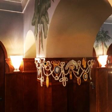 OTT decorative pillars and paradiso theme continues