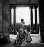 Coquette dress, autumn−winter 1948 haute couture collection Photo © Clifford Coffin/Licensed by Trunk Archive Model: Wenda Rogerson (Parkinson)
