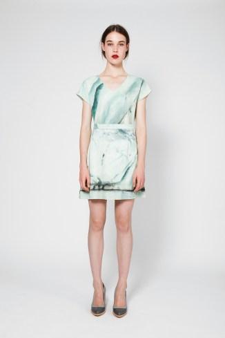 Vetor top and Haust skirt