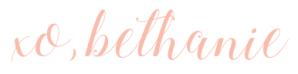 bethanie signature