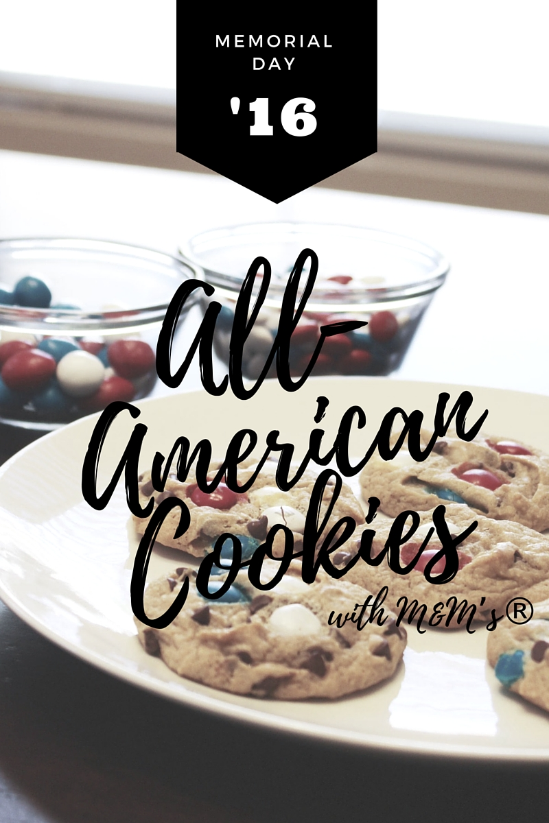 Memorial Day Cookie Recipe with M&M's®