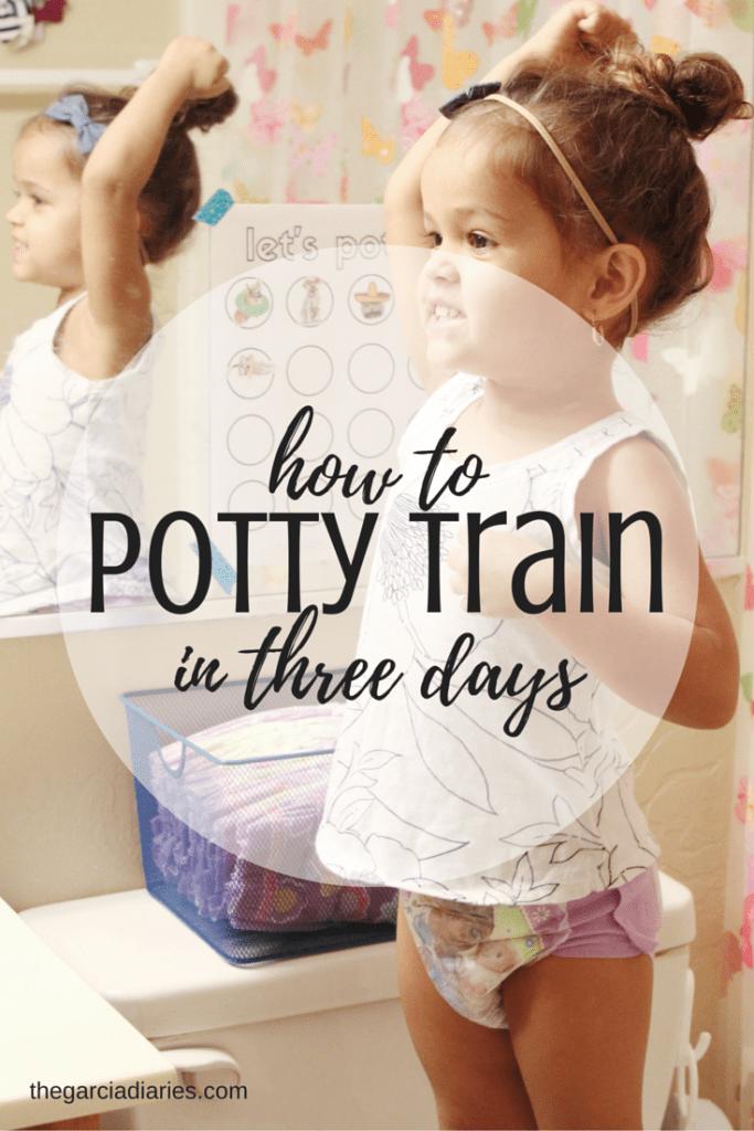 How To Potty Train In Three Days Free Potty Training