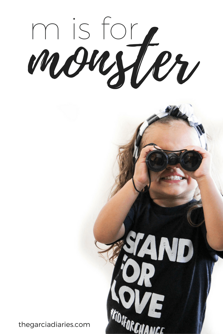 M is for Monster // Educational Subscription Boxes