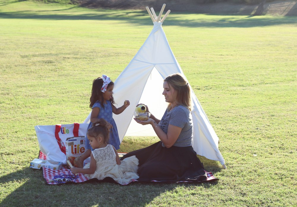 LIFE Cereal - Picnic At The Park With My Daughters