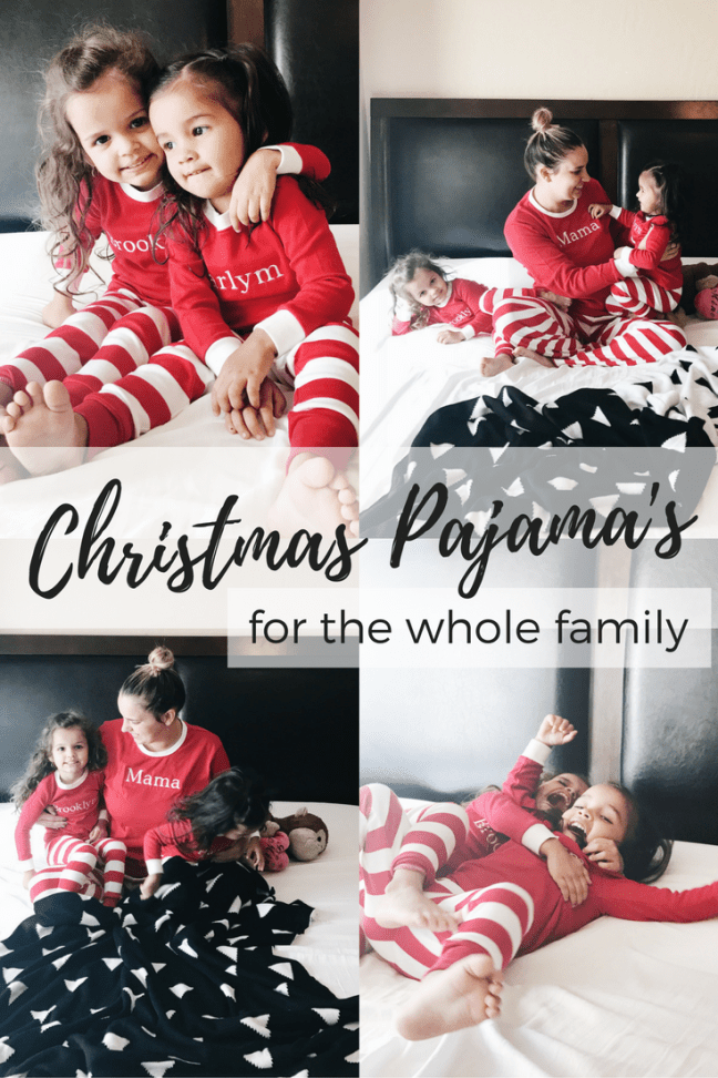 christmas-pajamas for the whole family