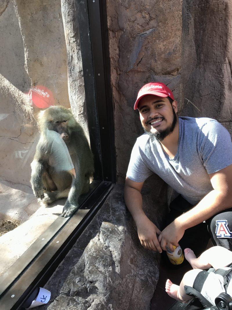 Family Zoo Day at the Phoenix Zoo - monkeys