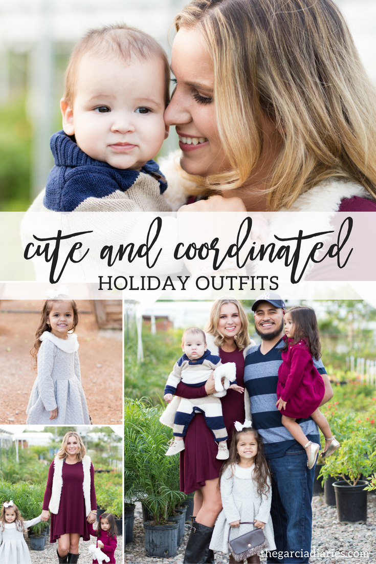 cute and coordinated HOLIDAY OUTFITS for the family! janie and jack