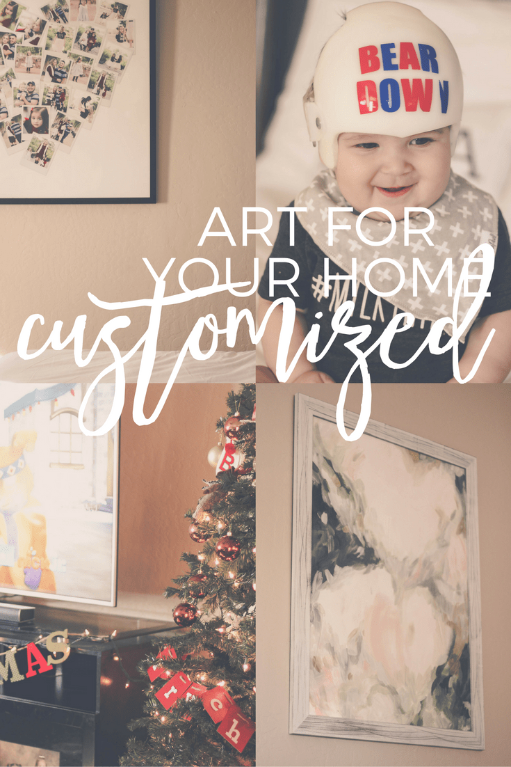 customized art for your home by minted