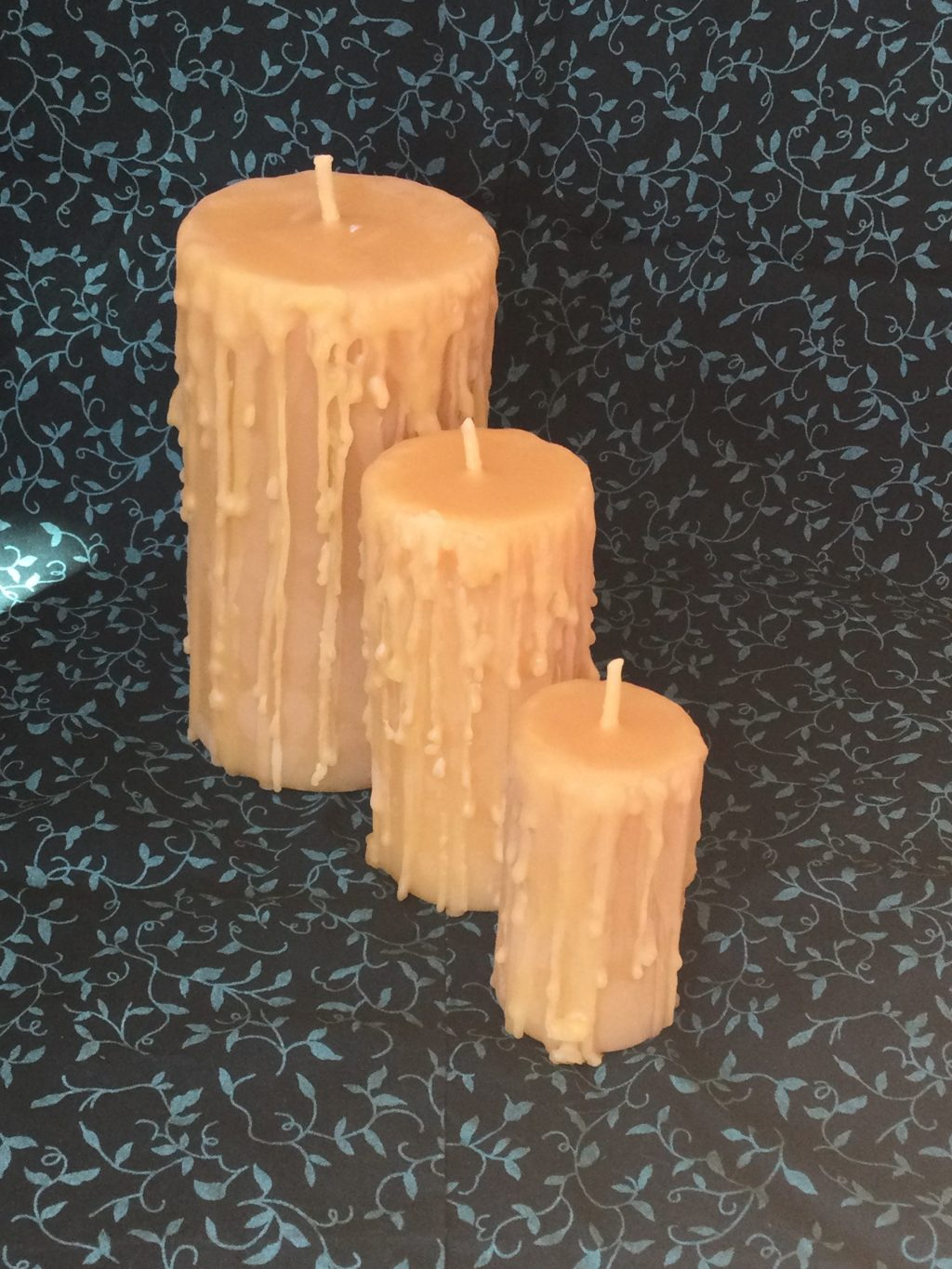 """Cottage Candle Lightly Textured 3"""""""