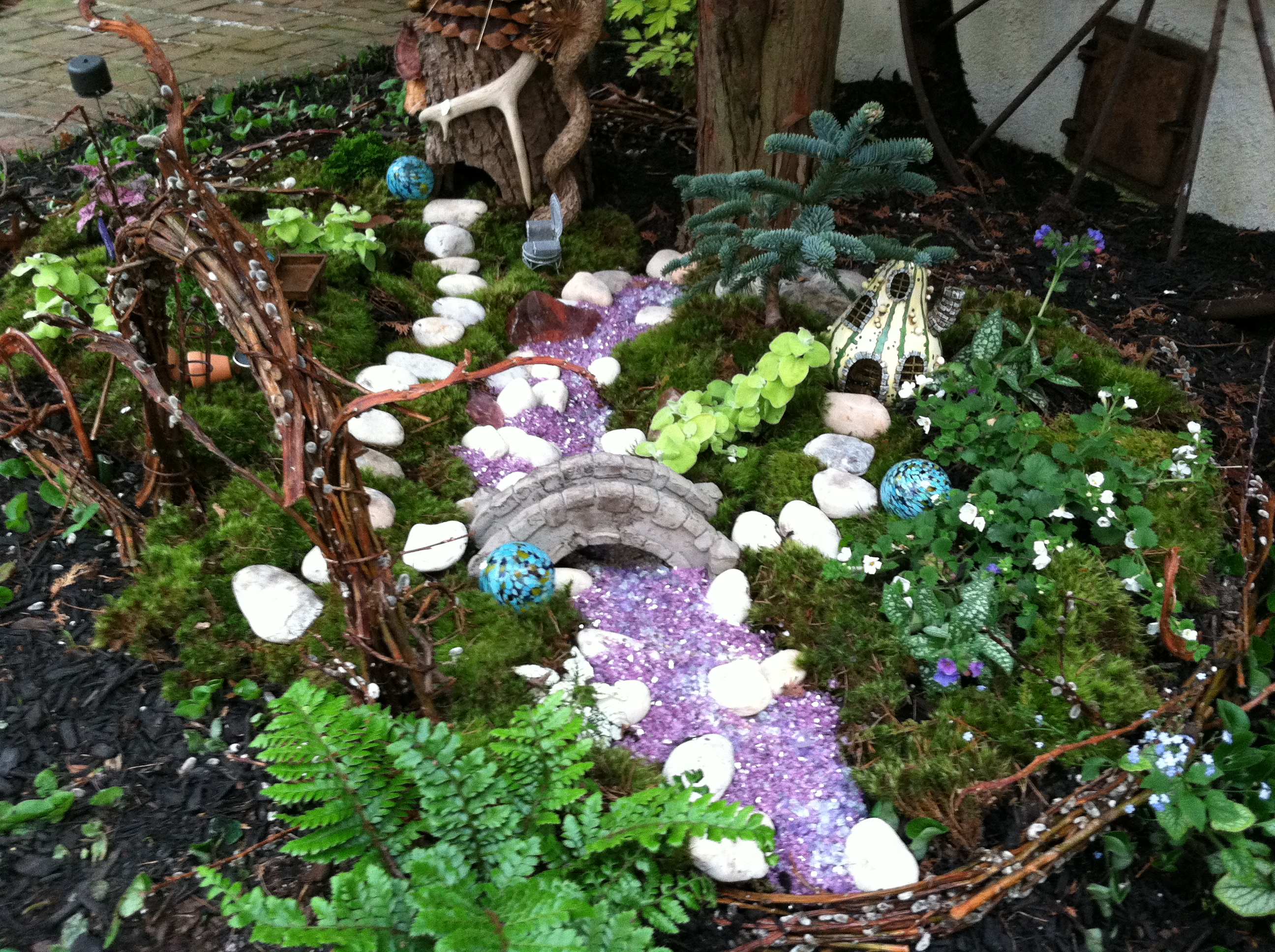 Outdoor Fairy Garden- Go Wild! – The Garden Diaries