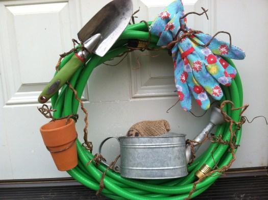 Add gardening paraphernalia