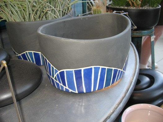 I loved this treatment of a container!