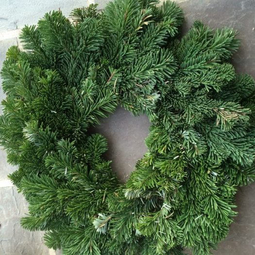 Starting with a basic wreath base