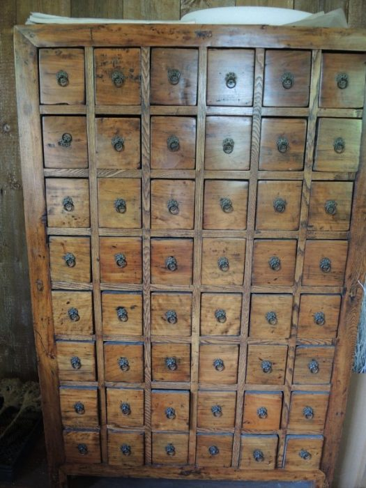 How about a filing cabinet to store seeds?