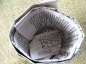 Newspaper pot