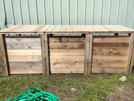 Compost bins come in all sizes and shapes