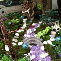 Outdoor Fairy Garden- Go Wild!