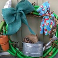 Garden Hose Wreath
