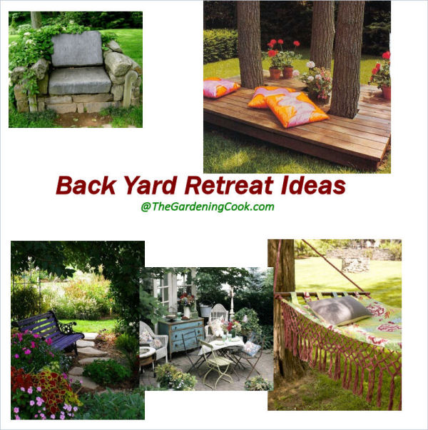 Backyard Retreat Ideas - Some of My Favorites - From ... on Backyard Retreat Ideas id=44108
