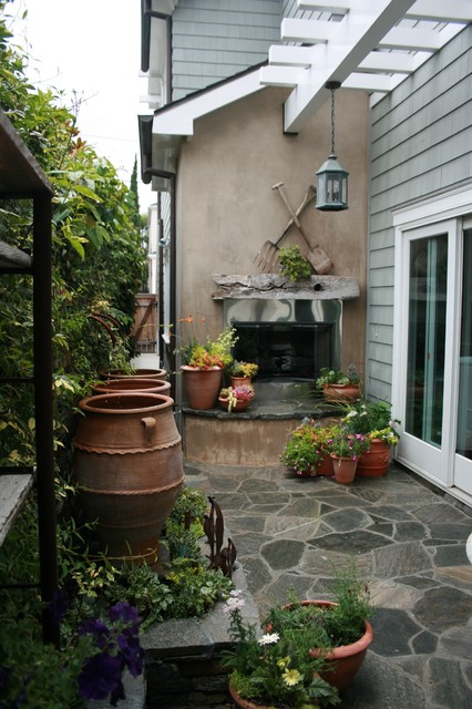 Porch and Patio Ideas - Relax in Style - The Gardening Cook on Narrow Yard Ideas  id=73299