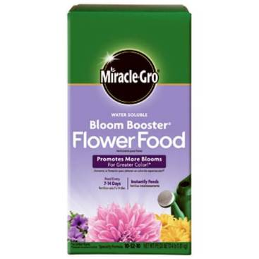 Miracle-Gro Bloom Booster Flower Food garden fertilizer