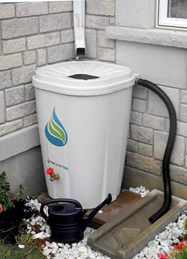 enviroworld rain barrel